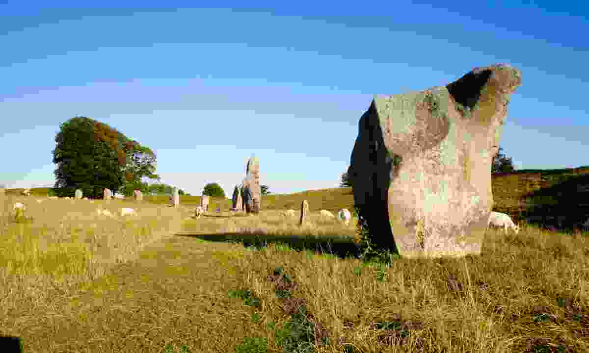 Avebury Henge and stone circles (Dreamstime)