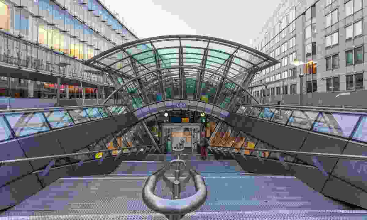 Brussels-Luxembourg railway station (Dreamstime)