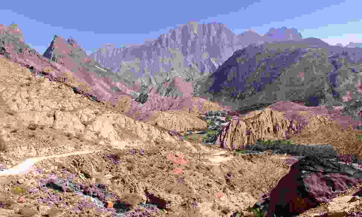 Mountain views in the Western Hajar (Dreamstime)