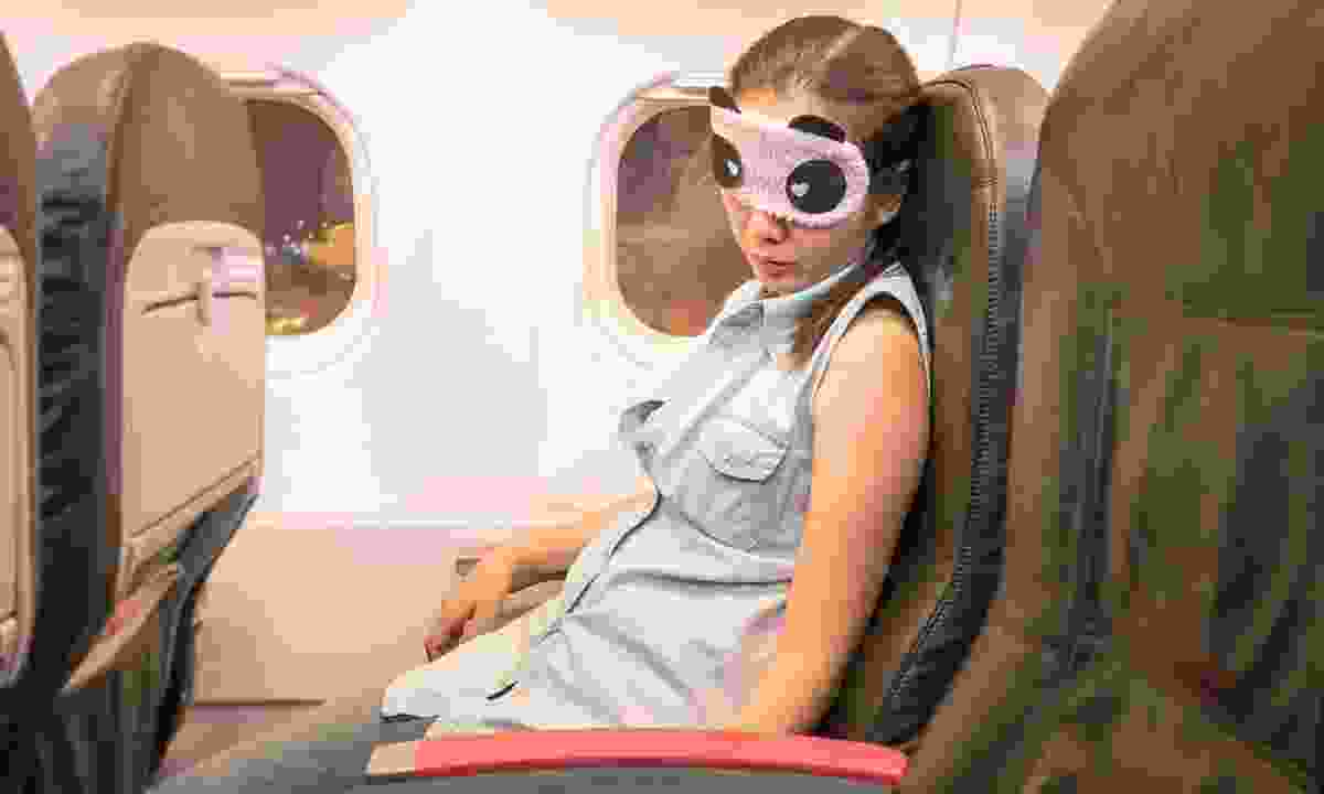 Anything to avoid jetlag... (Dreamstime)