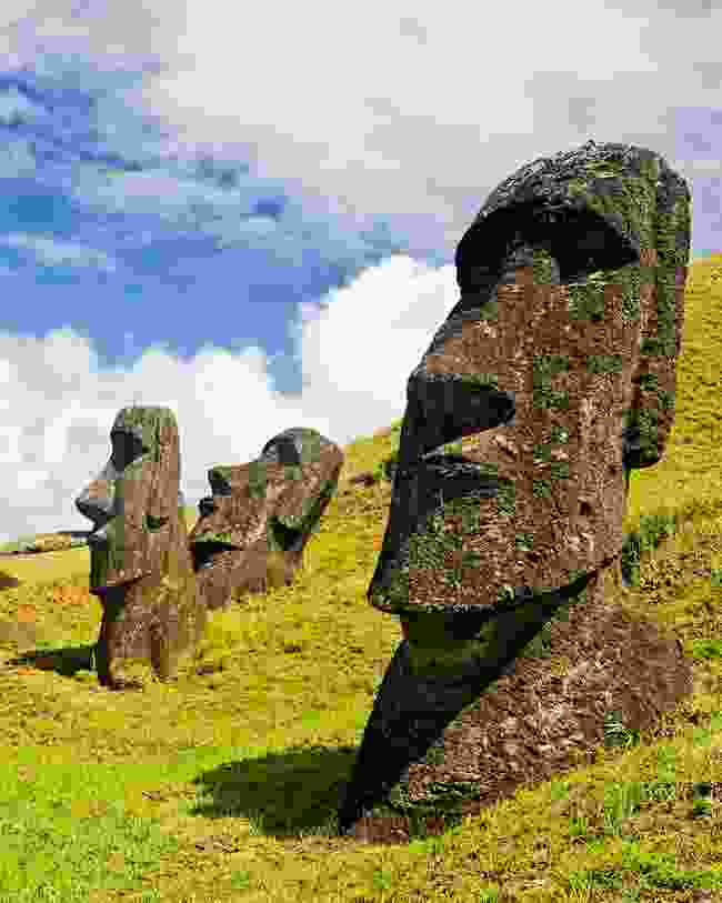 For The Happy Isles of Oceania (1993), Paul travelled across the Pacific, ending up in Easter Island, Chile (Shutterstock)