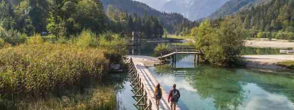 Hiking in Slovenia (Jošt Gantar)