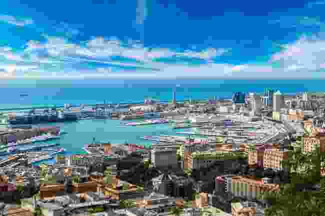Panorama of the Port of Genoa (Shutterstock)