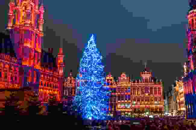 Grand Place, Brussels at Christmas (Shutterstock)