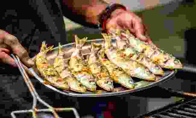 Grilled sardines (Shutterstock)