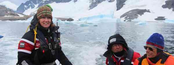 Hayley Shephard in Antarctica (Polar Latitudes)