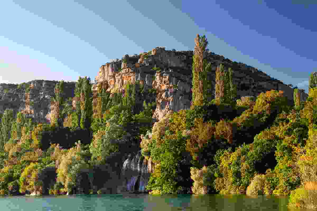 Roski waterfall, Krka National Park, Croatia (Dreamstime)