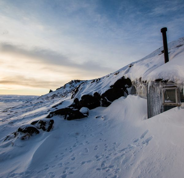 A cool diversion from geysers and glaciers is a visit to Laugarvatnshellir: a cave inhabited until as recently as 100 years ago.   After hot drinks in a cafe, your host takes you on a tour of how the Cave People used to live.