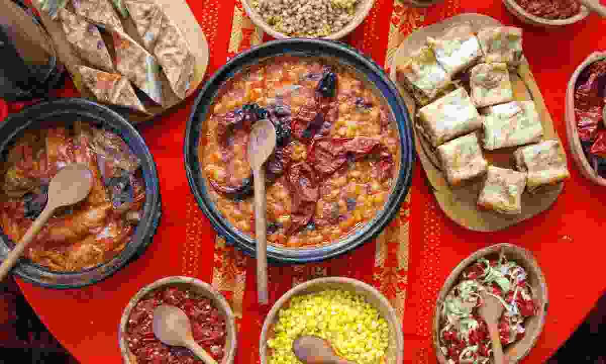 A Balkan feast (Dreamstime)