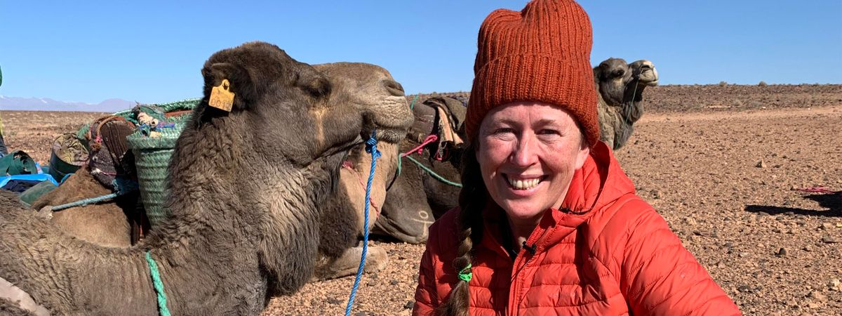 Meet Alice Morrison, the first woman to trek Morocco's Draa River