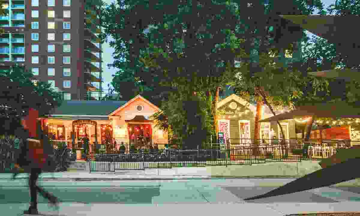 Rainey Street (Visit Austin)
