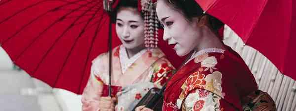Mailko in Kyoto (Shutterstock)