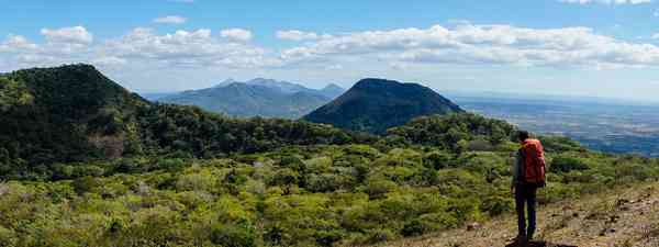 View from the top of Telica volcano in Nicaragua (Shutterstock)