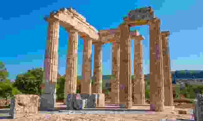 The temple of Zeus at ancient Nemea (Shutterstock)
