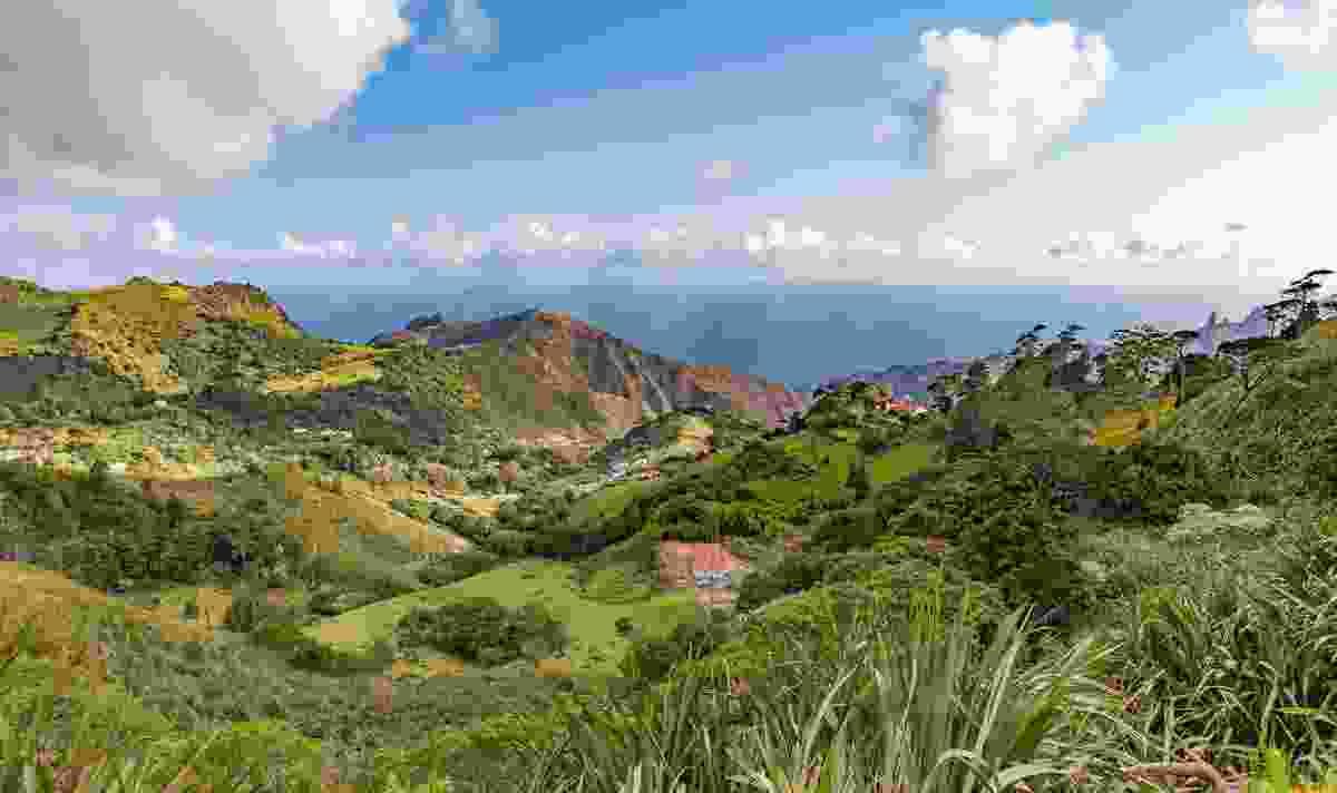 Beautiful landscape of St Helena (Shutterstock)
