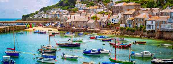 Mousehole village and fishing port in Cornwall (Shutterstock)