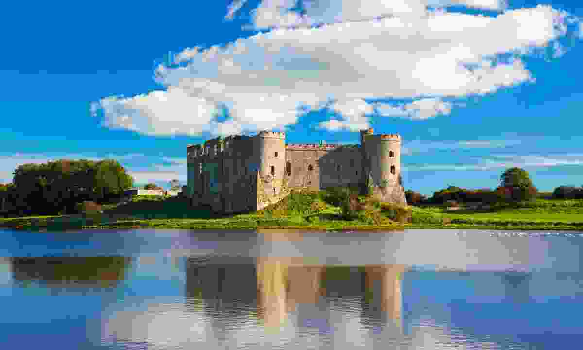 Carew Castle in Pembrokeshire is one of Wales many beautiful forts (Shutterstock)