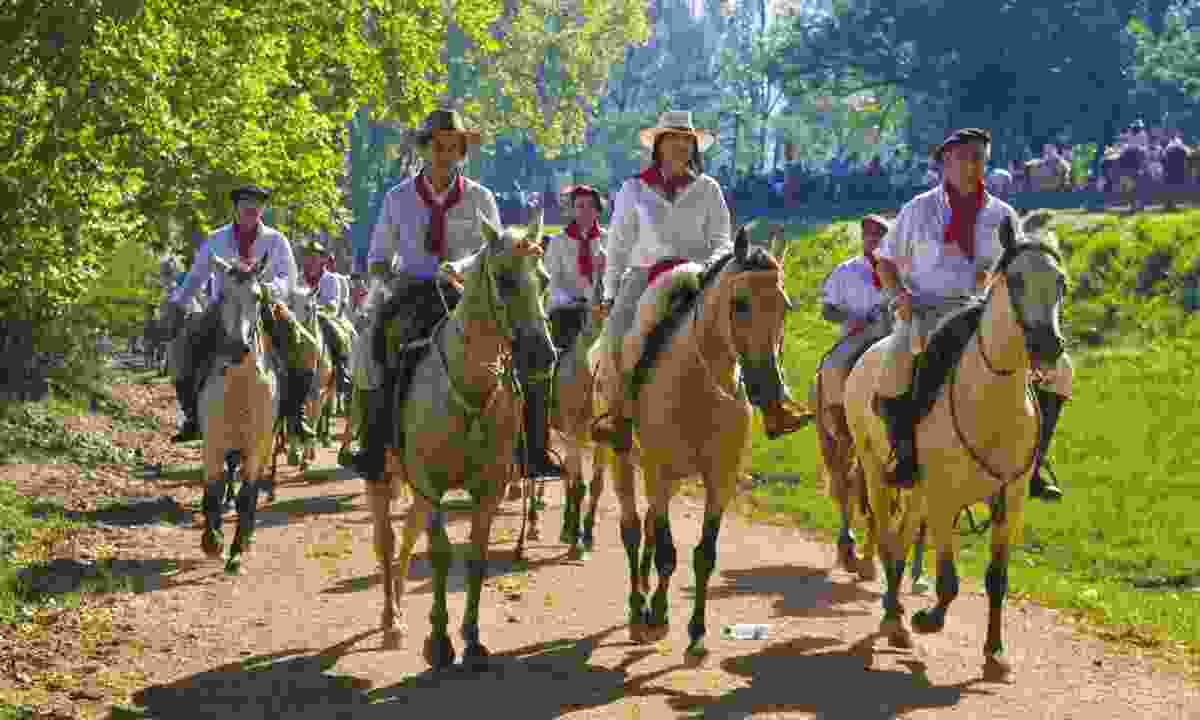 Festival of gaucho culture (Shutterstock)