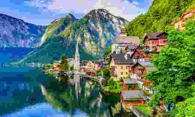 Hallstatt, one of Austria's many picturesque Alpine villages (Shutterstock)
