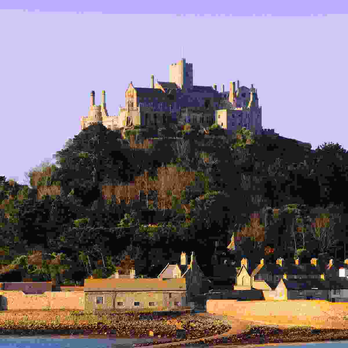 The castle and village of Cornwall's St Michael's Mount (Shutterstock)