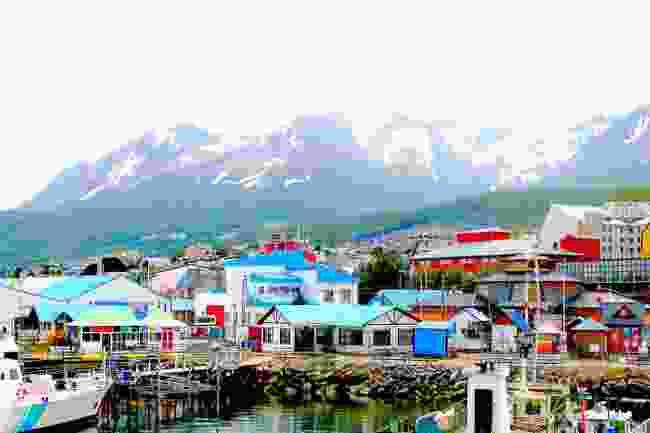 Colourful houses in Ushuaia, Argentina (Shutterstock)