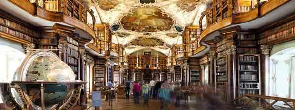 St Gallen's Abbey library (Switzerland Tourism)