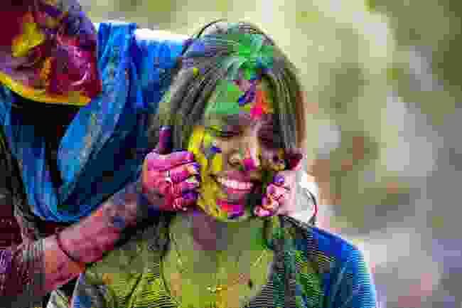 Women celebrating Holi (Shutterstock)