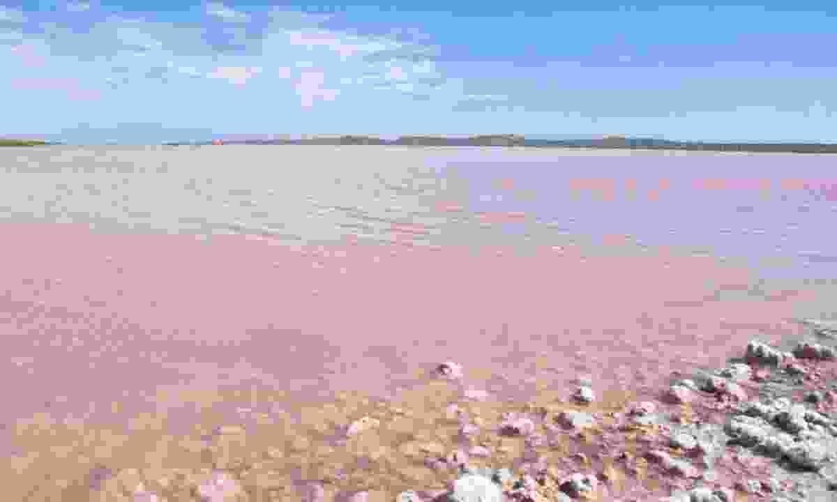 Pink Lake, Western Australia (Shutterstock)