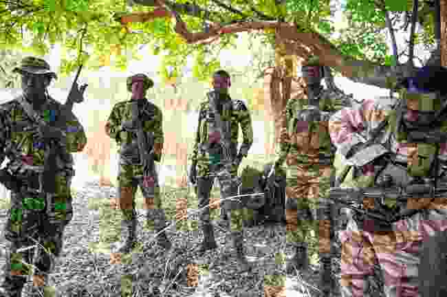 The Mamba anti-poaching team, known as 'Phantom' (Mark Stratton)