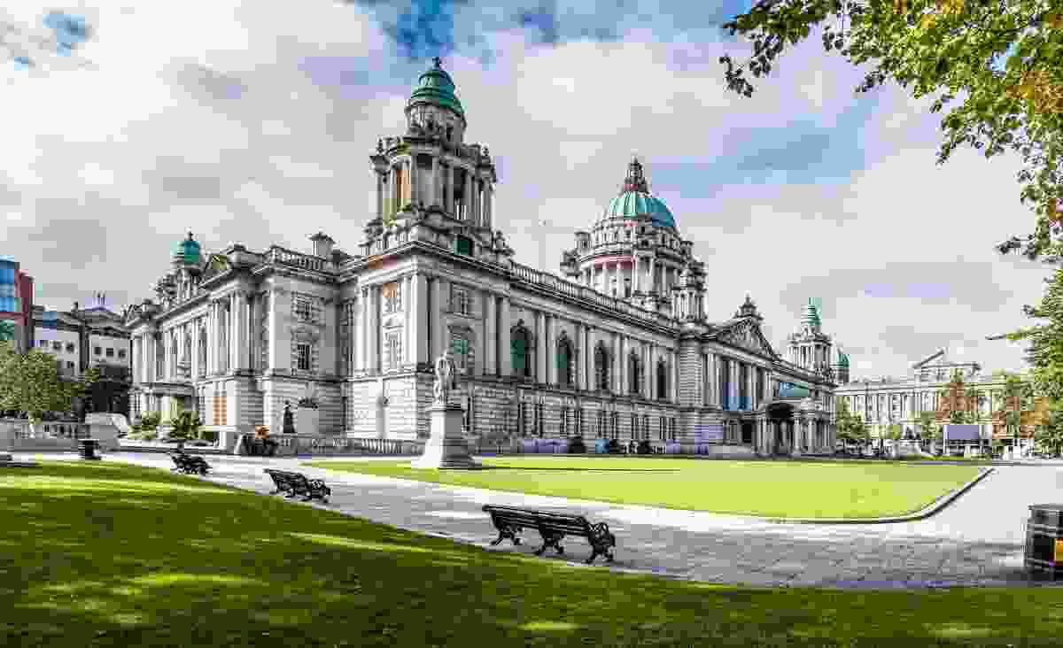 Belfast City Hall in Northern Ireland, UK (Shutterstock)