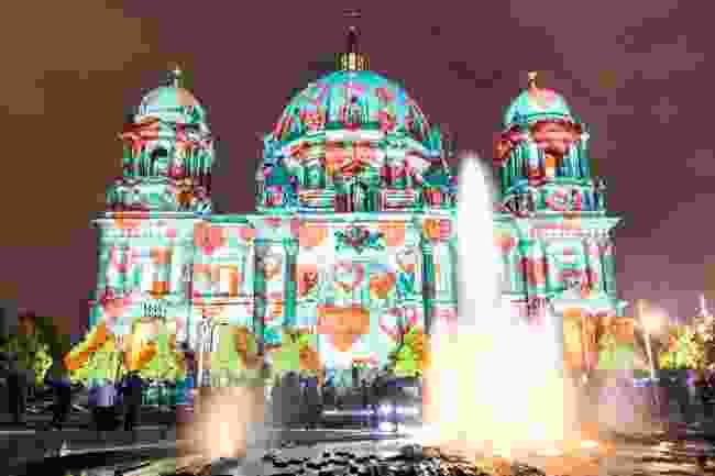 Berlin Cathedral illuminated during the festival (Shutterstock)
