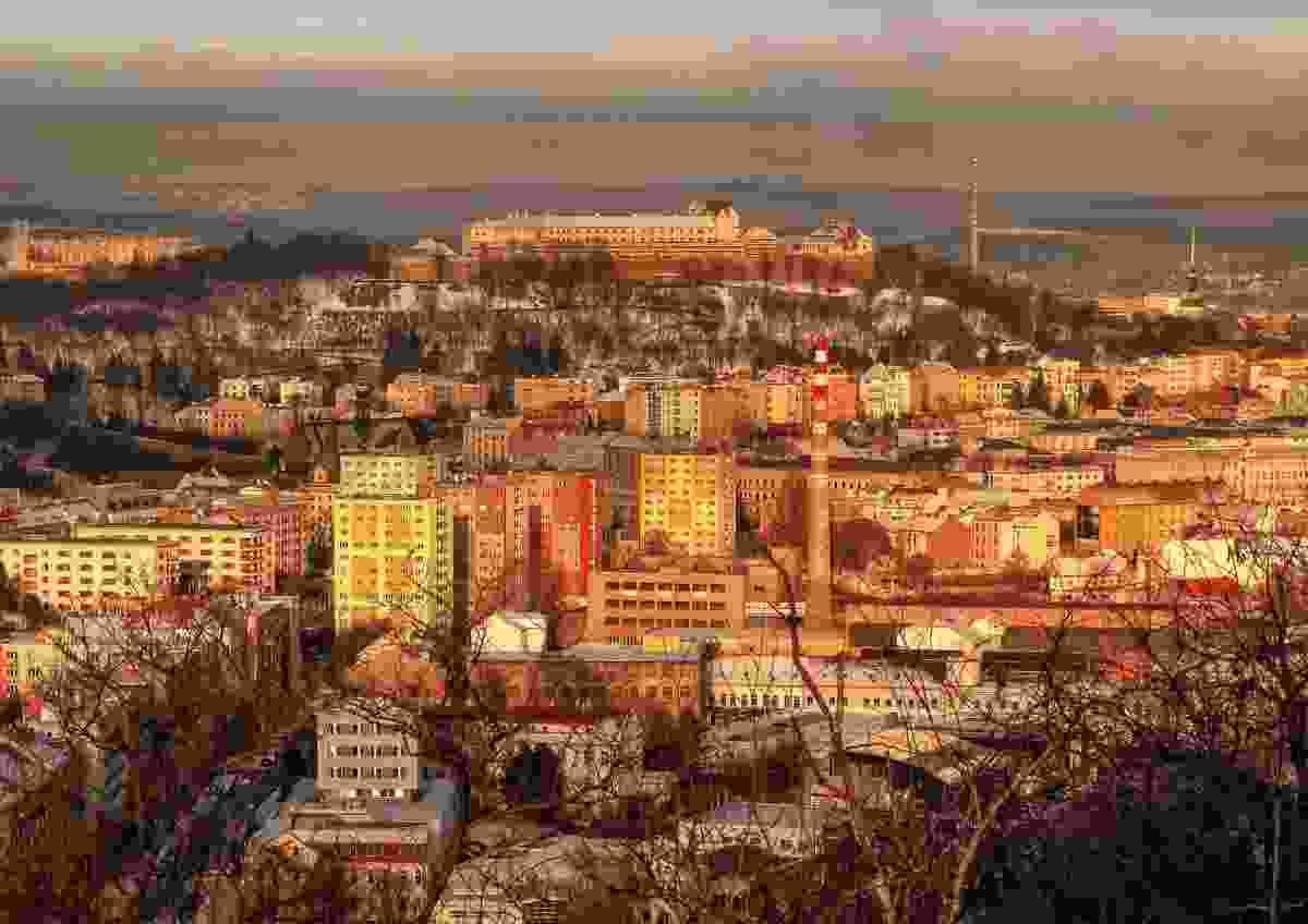 Castle Spilberk and old Brno (Dreamstime)