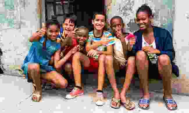 Kids in Cuba (Dreamstime
