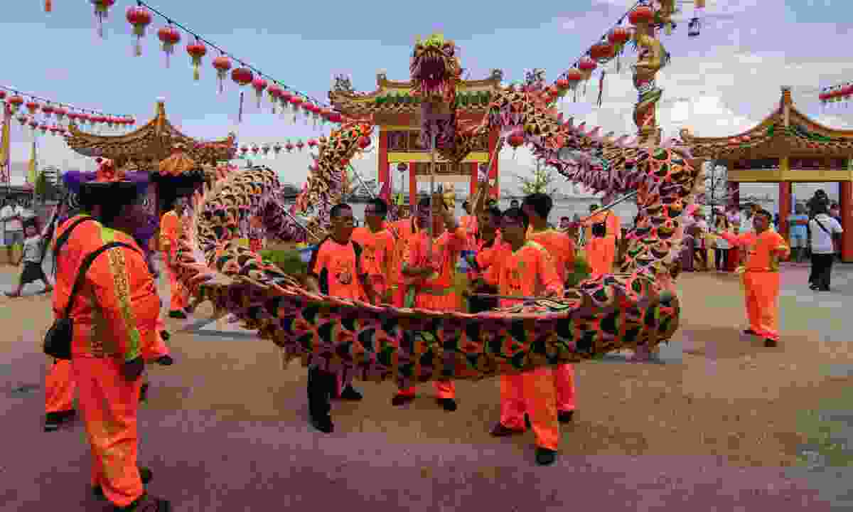 Celebrating the Spring Festival in Penang (Dreamstime)