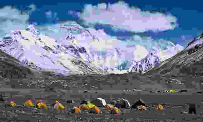 Mount Everest Base Camp (Dreamstime)