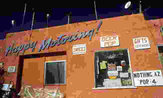 The only shop in Nothing (Dreamstime)