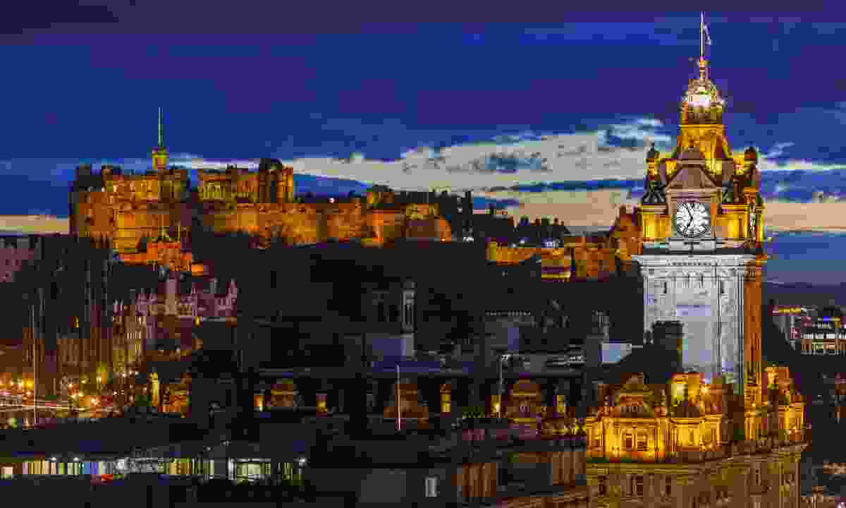 View from Calton Hill in Edinburgh (Dreamstime)