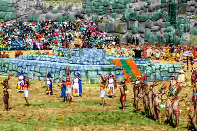 Festival of Inti Raymi being celebrated at the Sacsayhuaman (Shutterstock)
