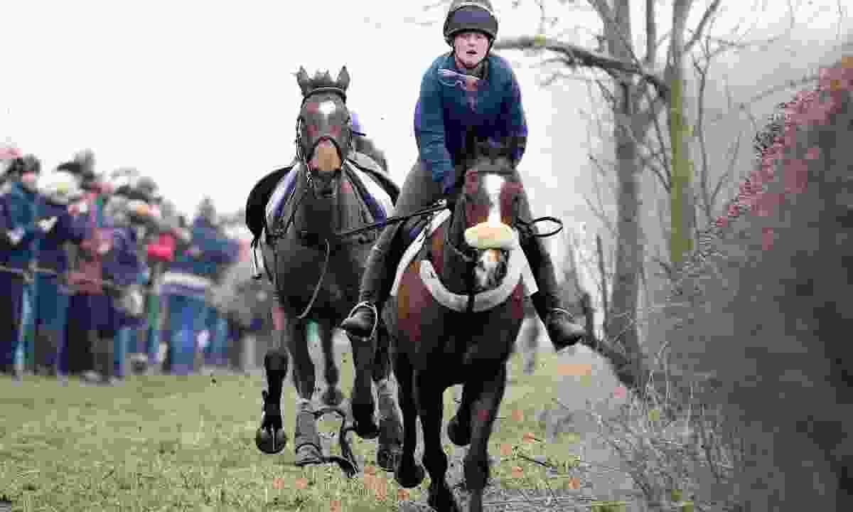 Racing in the Kiplingcotes Derby in 2015 (Shutterstock)