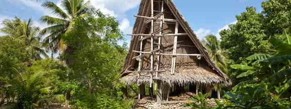 Traditional dwelling on Yap (Shutterstock)