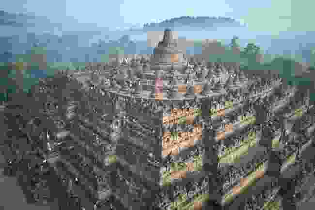 Aerial view of Borobudur (Shutterstock)