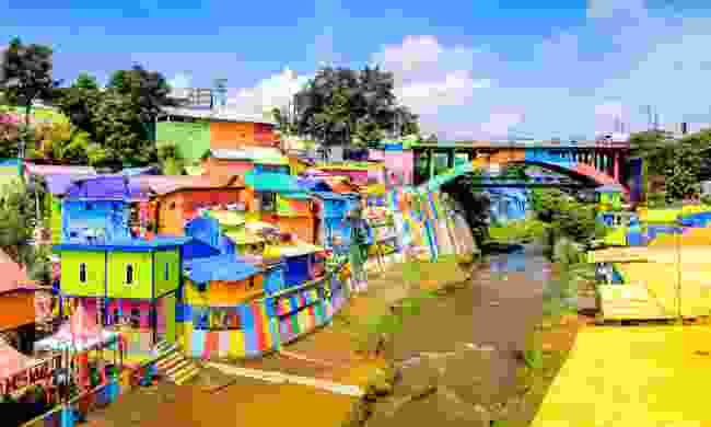 Colourful Rainbow Village in Jodipan, Malang (Shutterstock)