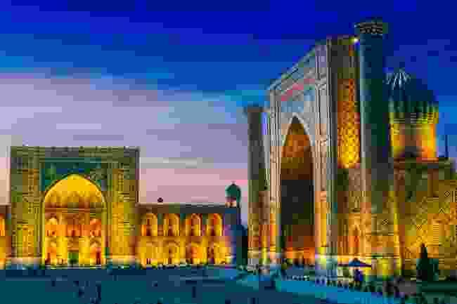 Sunset in Samarkand (Shutterstock)