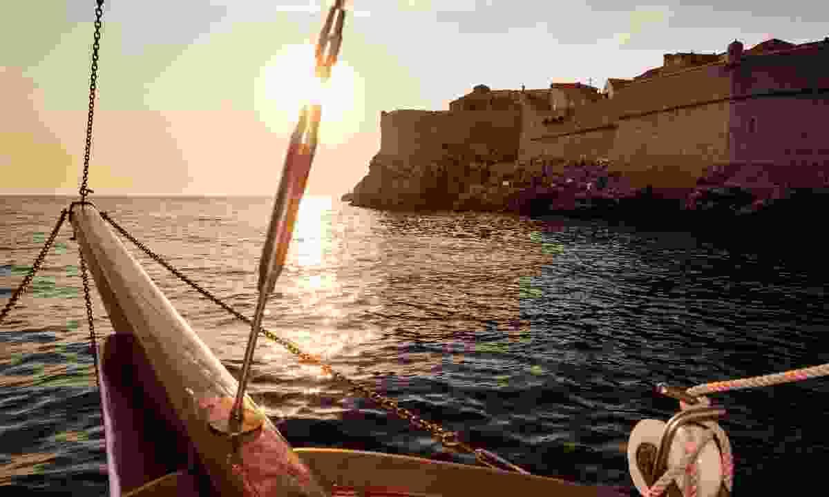 Sailing into Dubrovnik (Shutterstock)