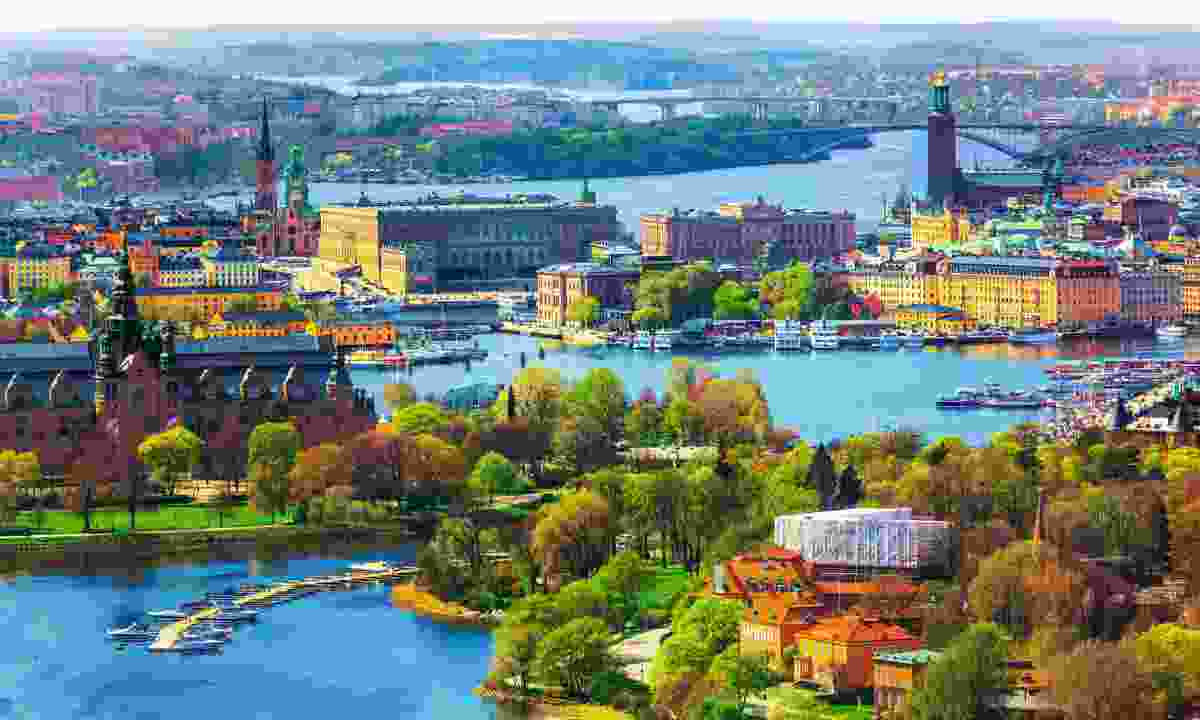 Stockholm harbour near the Old Town (Shutterstock)