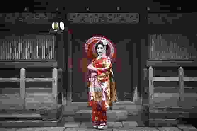 A geisha in Kyoto (Shutterstock)