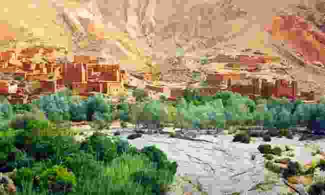 Kasbah in Dades Valley (Shutterstock)