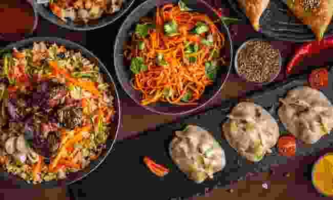 An Uzbek feast (Shutterstock)