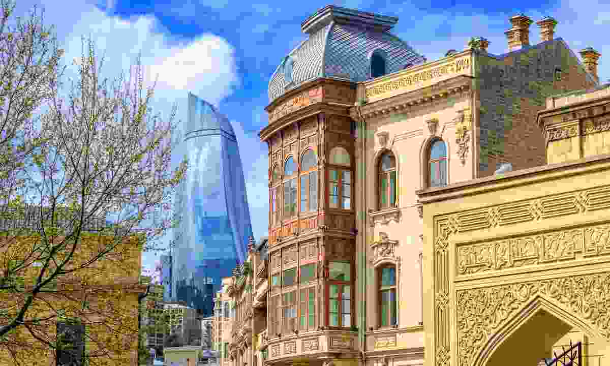 Old and new in Baku (Shutterstock)