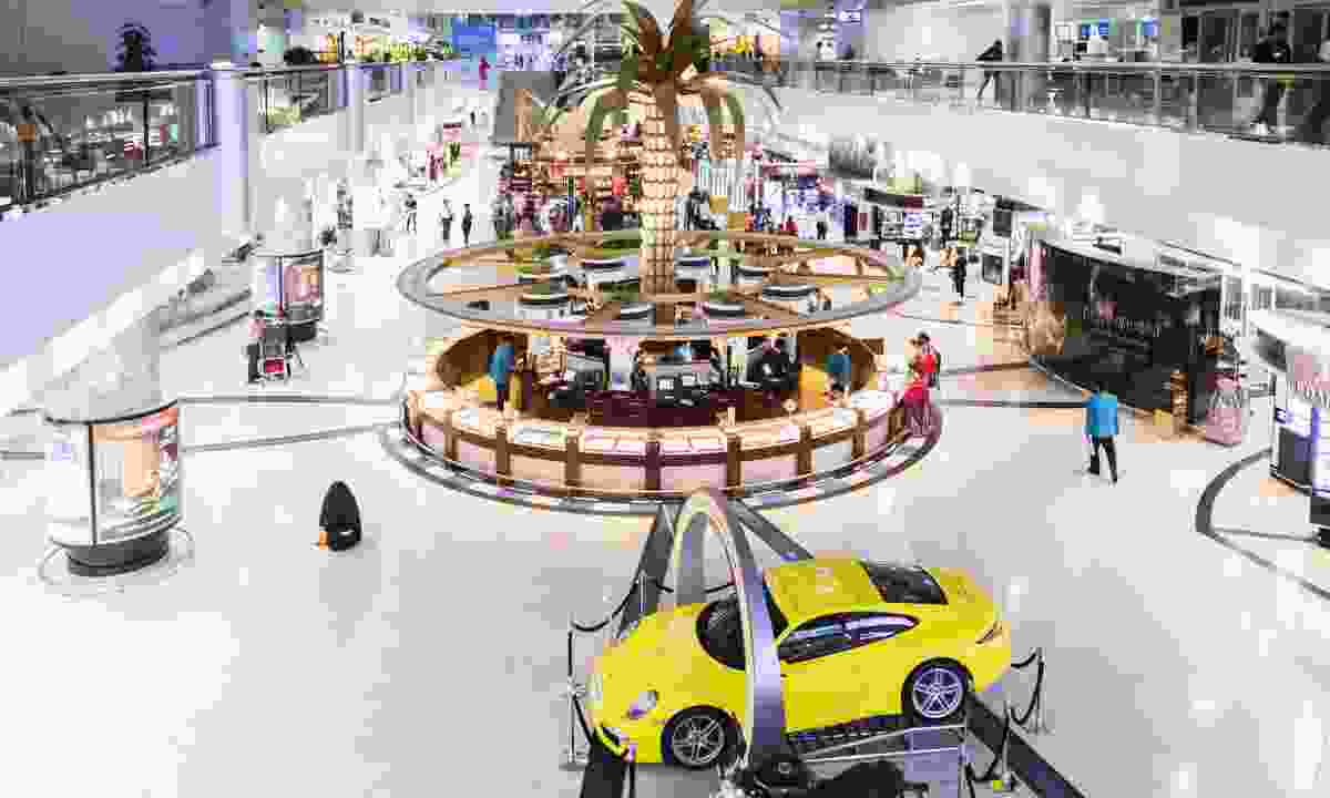 Inside Dubai International Airport (Dreamstime)